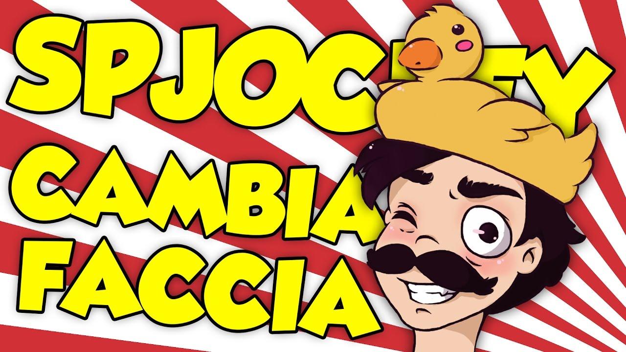 Spjockey cambia faccia youtube for Immagini di clown da colorare