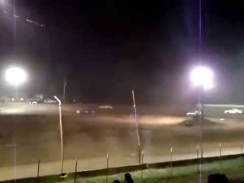 "PSRA Pure Stock ""A"" Feature at West Siloam Speedway Part 3"
