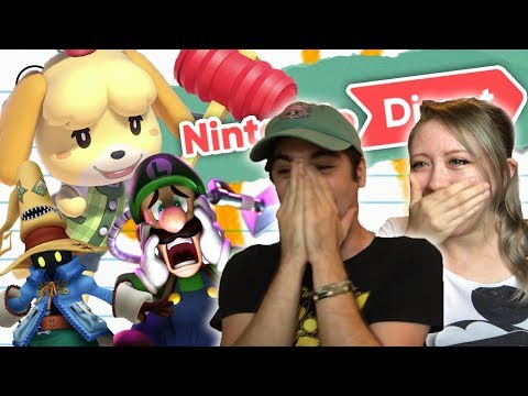 LITERALLY CRYING ABOUT ANIMAL CROSSING (Nintendo Direct 9/13 Reaction)