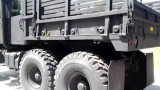 bmy m931a2 5 ton quad cab military truck crew cab walkaround