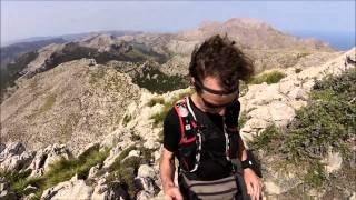 Mallorca, climbing/hiking road to Massanella