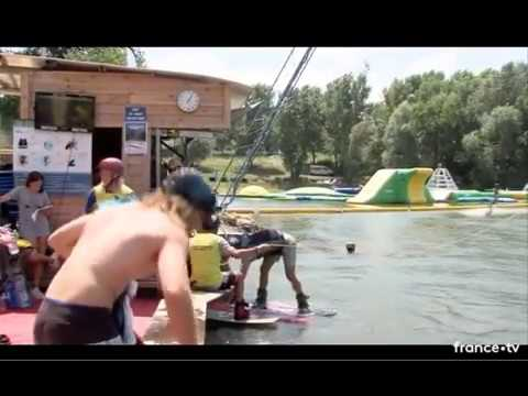 Finale Championnat de France Wakeboard Cable 2018 Open Men - Le muy Exo83