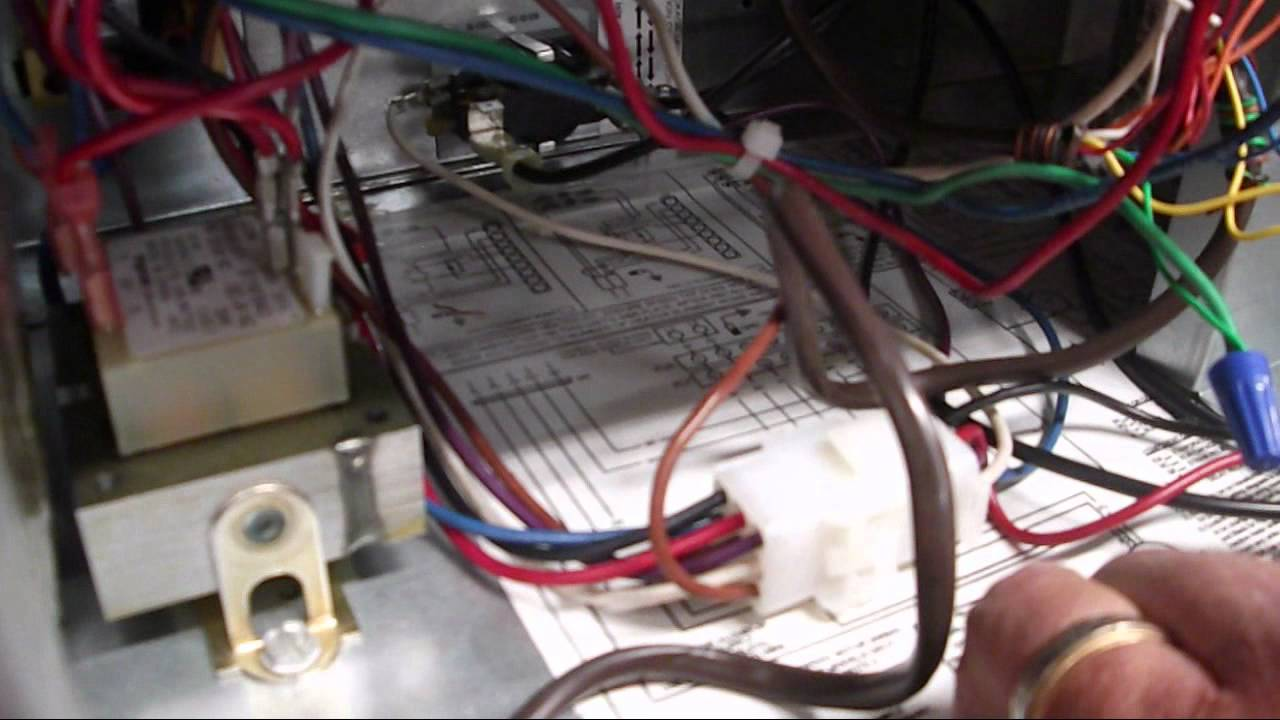 maxresdefault more of the goodman 13 seer 2 ton heat pump and air handler youtube goodman heat strip wiring diagram at nearapp.co