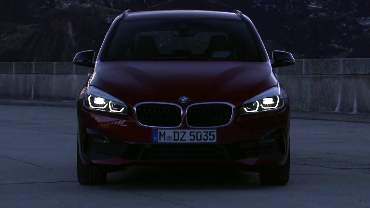 Led Car Lights >> 2018 BMW 2 Series (Active & Gran Tourer) LED Headlights & Tail Lights - YouTube
