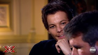 Louis Tomlinson Guest Judges on The X Factor UK on AXS TV
