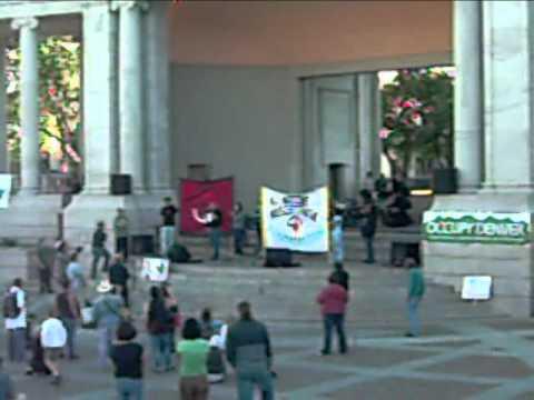 Glenn Morris Speaks on behalf of AIM at Occupy Denver 4
