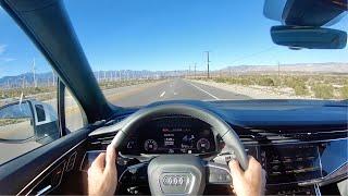 2020 Audi Q7 3.0 V6 POV Drive (3D Audio)