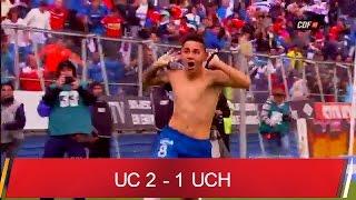 U. Católica 2-1 U. de Chile Fecha 13 1A Clausura 2015/2016