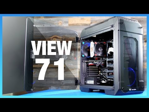 Thermaltake View 71 Review: Unique Thermal Behavior