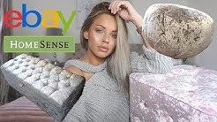 CHEAP FURNITURE HAUL | EBAY FURNITURE & HOMESENSE | Lucy Jessica Carter