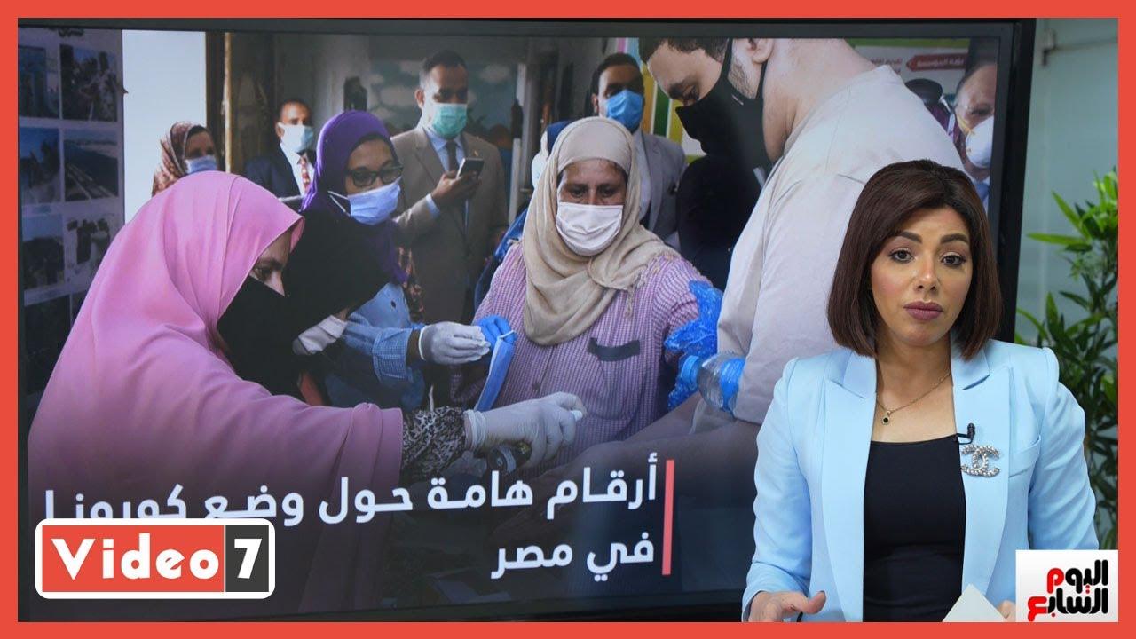 هام ?  237 ألف حالة إصابة بفيروس كورونا و13 ألف حالة وفاة فى مصر  - 03:58-2021 / 5 / 11