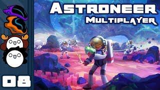 Let's Play Astroneer [1.0 & Multiplayer] - PC Gameplay Part 8 - Sliiiiiide
