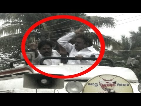 Vijayakanth Hits His MLA Again In Cuddalore - 2015 - RedPix 24x7 - Must Watch