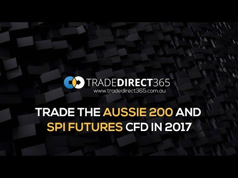 Index Trading Australia 200 / SPI Futures CFD in 2017