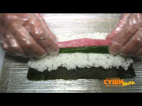 Как правильно готовить суши и роллы