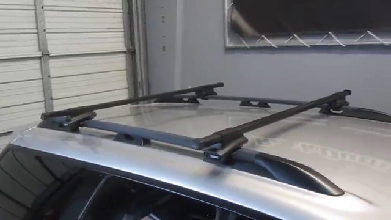 Subaru Outback Sport Wagon Thule Crossroad SQUARE BAR Roof ...
