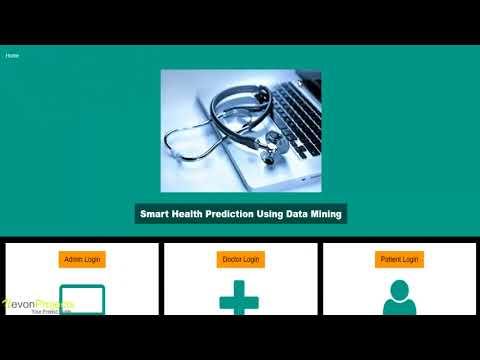 Smart Health Prediction Using Data Mining PHP