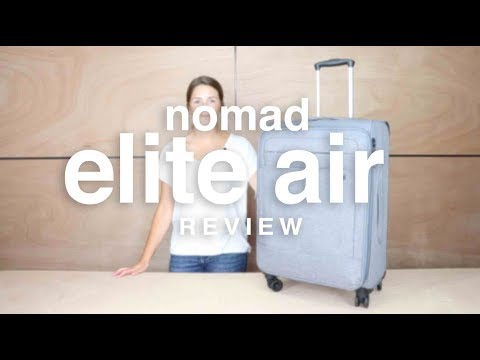 Nomad Elite Air Luggage Review | luggage.co.nz