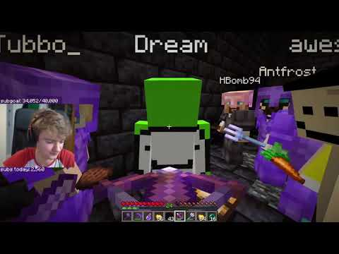 Tommyinnit DEFEATS Dream and put him in PRISON on the Dream SMP.