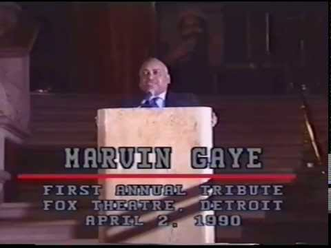 Marvin Gaye Presentation, April 2, 1990