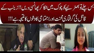 Shehbaz Sharif confirms arrest of Zainab's murderer, refers to him as 'serial killer'