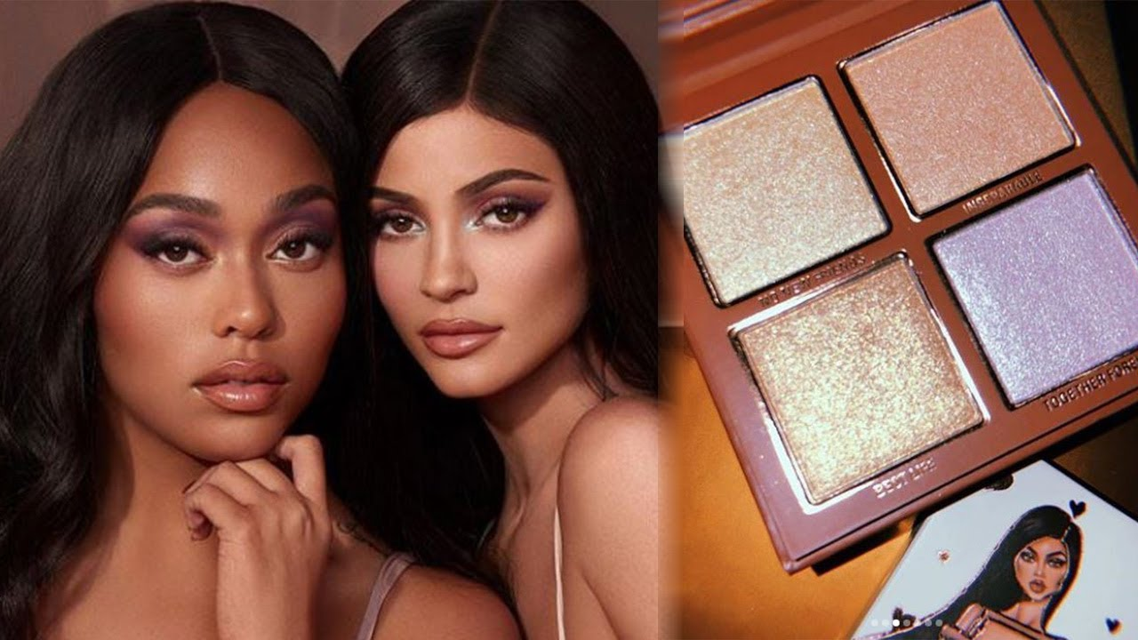 Kylie Jenner LAUNCHES Cosmetics Collab With BFF Jordyn Woods