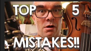 TOP 5 ORCHESTRATION MISTAKES!