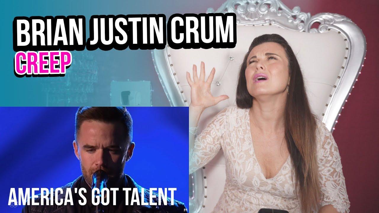 Vocal Coach Reacts to Brian Justin Crum - Creep