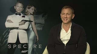 SPECTRE: Daniel Craig opens up about negative press and gives advice to the next James Bond
