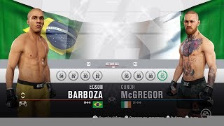 UFC 3 - Edson Barboza vs. Conor McGregor | КТО ЖЕ ПО УДАРКЕ КРУЧЕ ?!