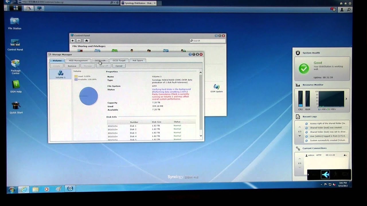 Synology DS1513+ Review Part II - Performance
