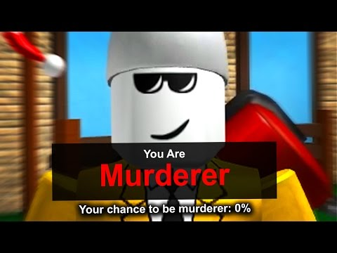 HOW TO GET MURDERER ON ZERO PERCENT IN MURDER MYSTERY 2