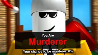 HOW TO GET MURDERER ON ZERO PERCENT IN MURDER MYSTERY 2
