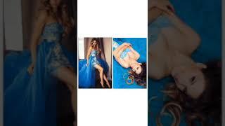 Вечернее платье «Голубая лагуна» в аренду СПб