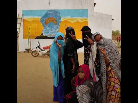 Street Art on COVID 19 Reaches Remote Communities in Northern Niger