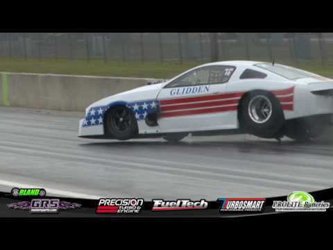 Billy Glidden Pro Mod Crash @ Orlando Speed World