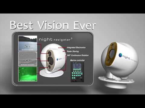 Night Navigator™ 3   Marine Night and Day Vision Camera System