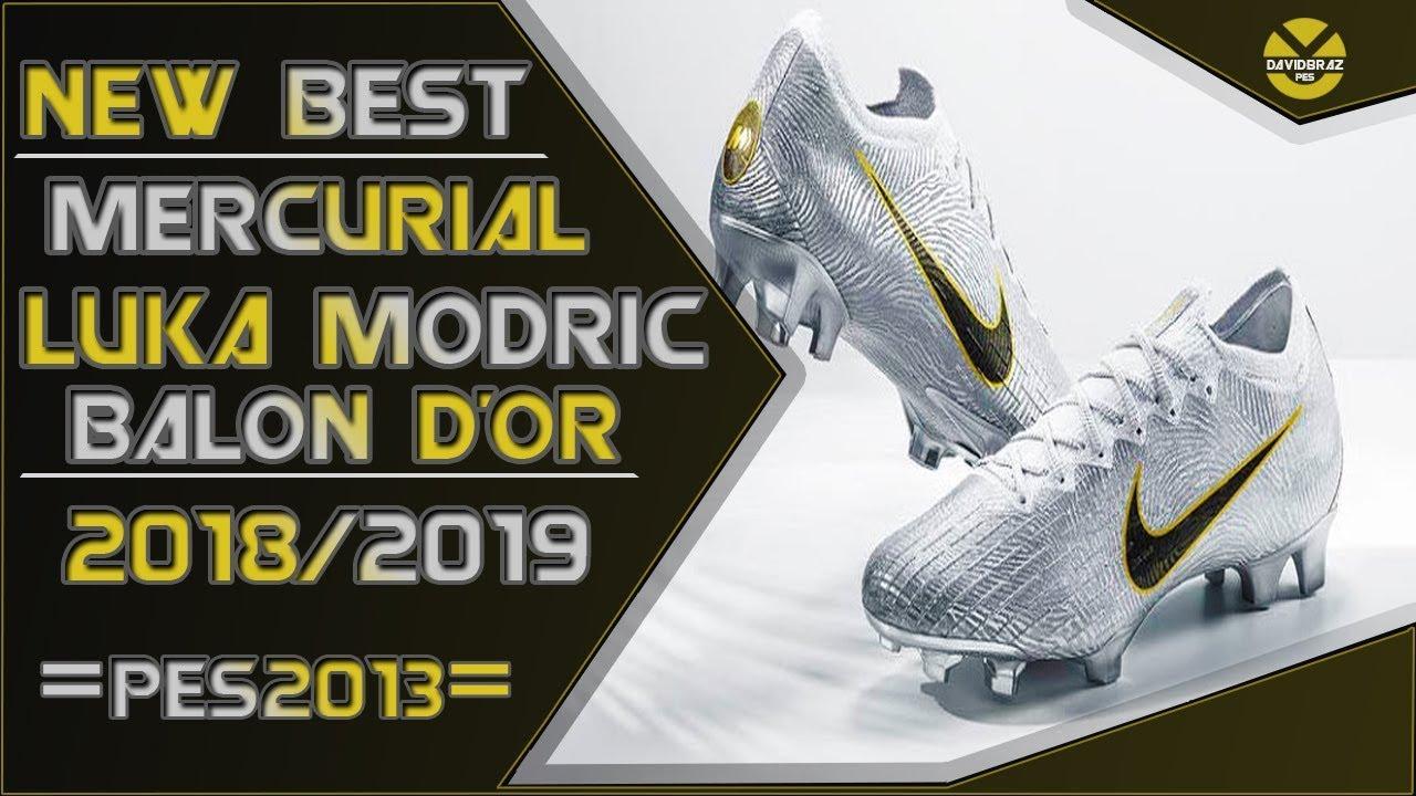24f43b2d0 PES 2013 | New Best Boots • Nike Mercurial 'Golden Touch' Luka Modric • 2018  / 2019 • HD