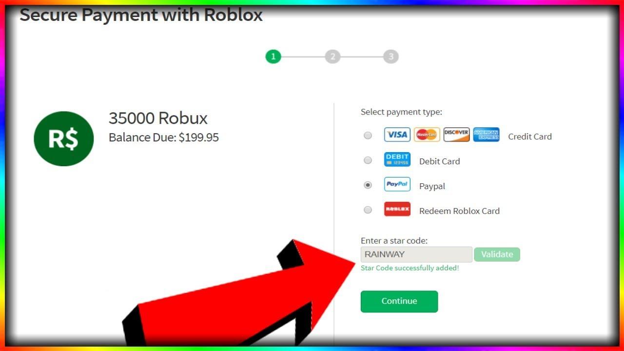 USE CODE RAINWAY WHEN BUYING ROBUX - YouTube
