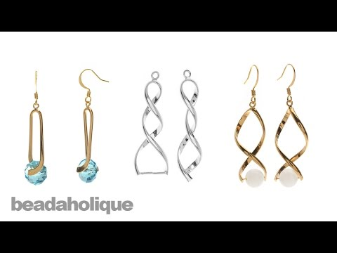 How to Use Pinch Bail Pendant and Earring Findings