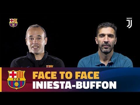 FACE TO FACE | Andrés Iniesta vs Gigi Buffon