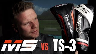 Titleist TS3 Driver vs Taylormade M5 Driver