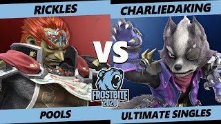 Frostbite 2020 SSBU Pools - HPT   Rickles (Ganondorf) Vs. Charliedaking (Wolf) Ultimate Singles
