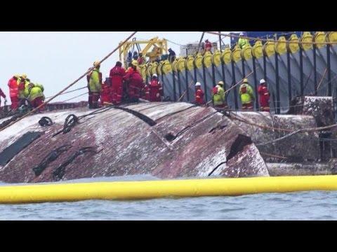 Raising the dead from S. Korea ferry disaster