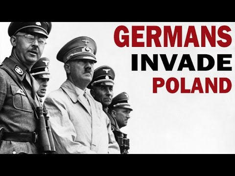 German Invasion of Poland in 1939 | Captured German Film | World War 2 Documentary