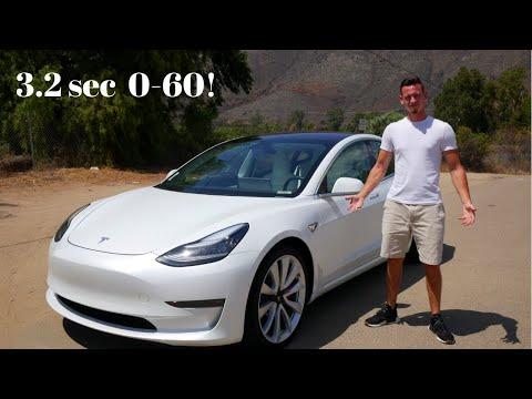2019 Tesla Model 3 Performance| Full Throttle Drive+Review