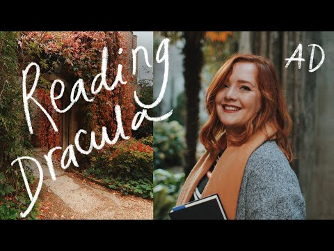 Finally reading Dracula for the first time 🦇| Halloween Reading Vlog