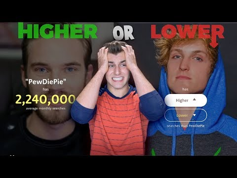 Thumbnail: Who Is More Popular? (Higher or Lower)