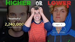 Mix - Who Is More Popular? (Higher or Lower)