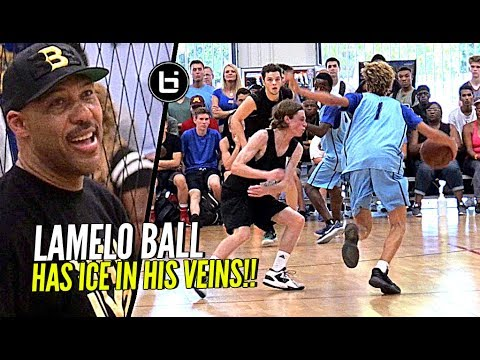 LaMelo Ball 51 Points vs San Antonio Spurs of AAU Basketball
